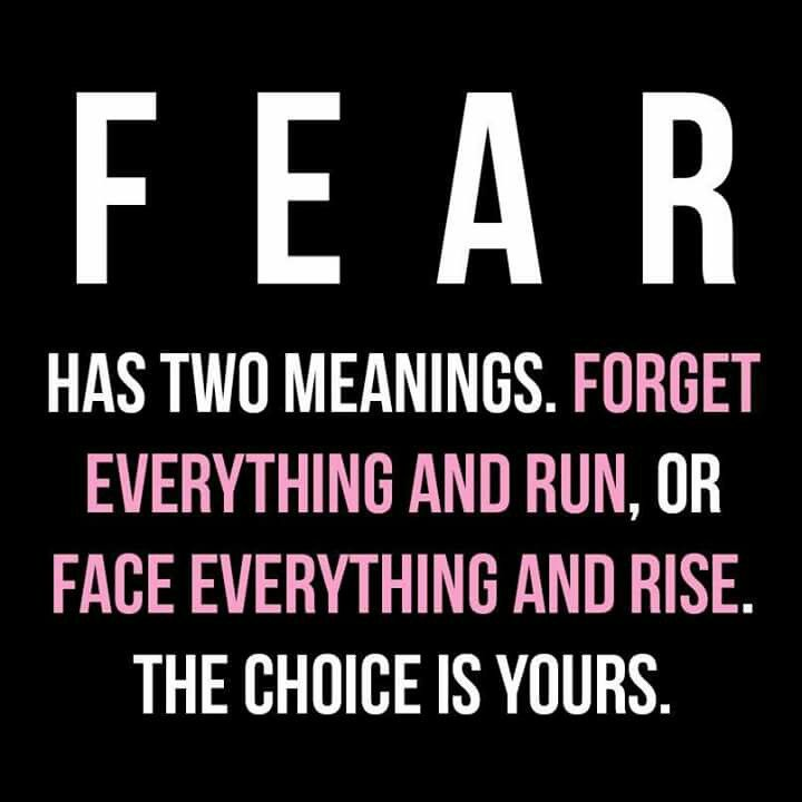"""Love this. I live by """"face everything and rise"""". Made me the strong woman I am today. Cowards think they are high and mighty but they are the ones who truly do """" forget everything and run"""" so incredibly true."""