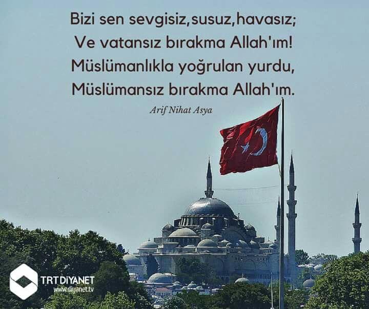 #vatan #islam #bayrak #ezan #arifnihatasya