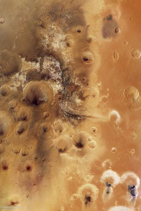 Mawrth Vallis martian mosaic  Sculpted by ancient water... - http://astronomy.abafu.net/astronomy/mawrth-vallis-martian-mosaicsculpted-by-ancient-water