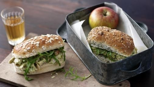 These sandwiches take no time to make and are great for a school packed lunch…