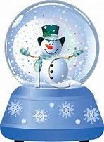 Image result for Happy Holiday Snow Globe Clip Art