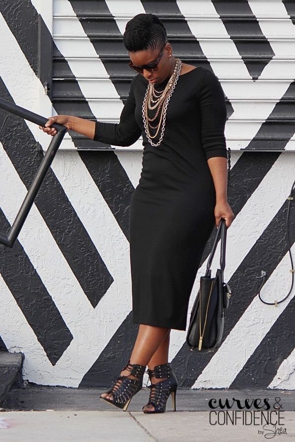 Black on Black | Curves and Confidence | A Miami Style Blogger