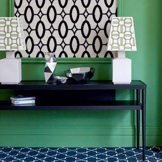 Green and Blue Decor Scheme | Hallway | Colour schemes | Decorating ideas | PHOTO GALLERY ...