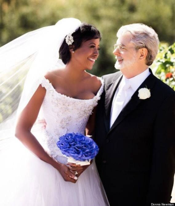 George Lucas and Mellody Hobson, newly weds 2013