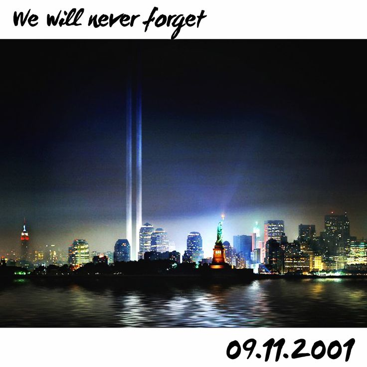 We will never forget. 09.11.2001  #twintowers #neverforget #remember