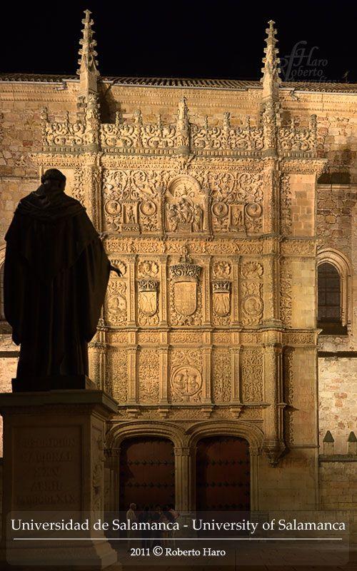 Universidad, Fray Luis de León, Salamanca, Castile Leon, Spain.