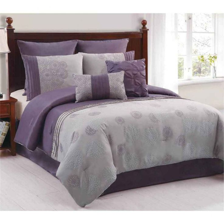 24 Best Grey And Purple Master Bedroom Images On Pinterest