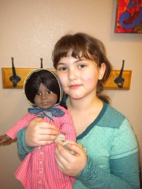 My daughter with her Addy doll that she picked out for her birthday last month. This week we will start our study of Addy in American Girl Club. This week will mark the 35th week that we have…