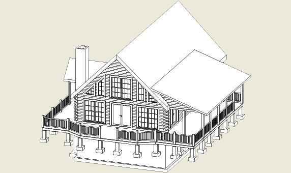 Granville Log Home | Southland Log Homes | Homes