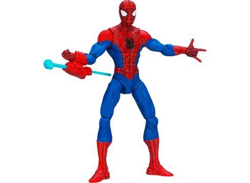 SPIDER-MAN Ultimate Core figur, Spider-Man og nettavfyrer (tilbud hos toys R us)