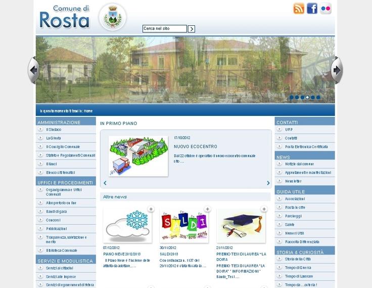 Comune di Rosta  www.comune.rosta.to.it/ #GovCube