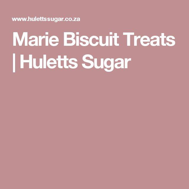 Marie Biscuit Treats | Huletts Sugar