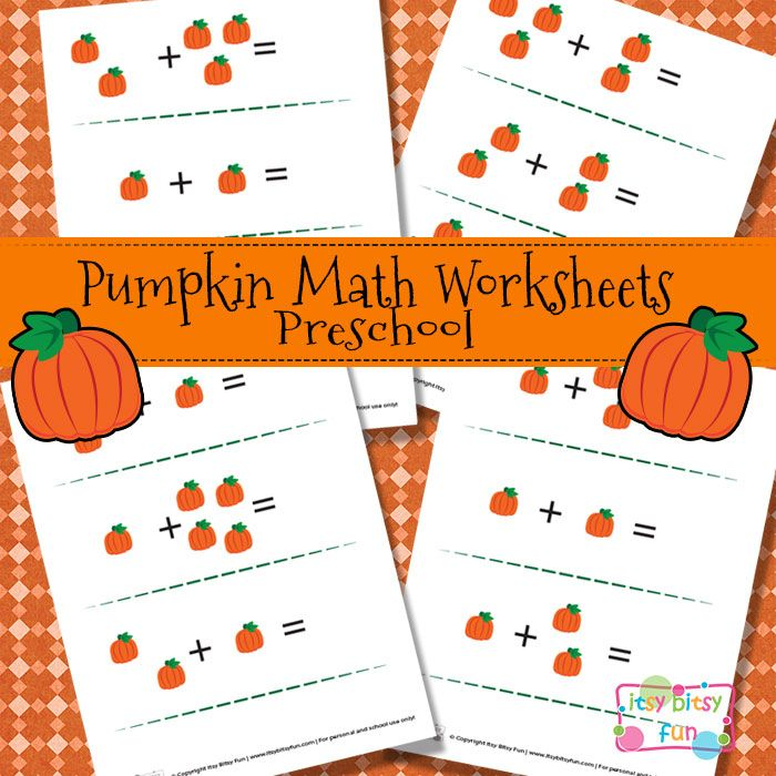 pumpkin math worksheets for preschool crafts pumpkins and house in the country. Black Bedroom Furniture Sets. Home Design Ideas
