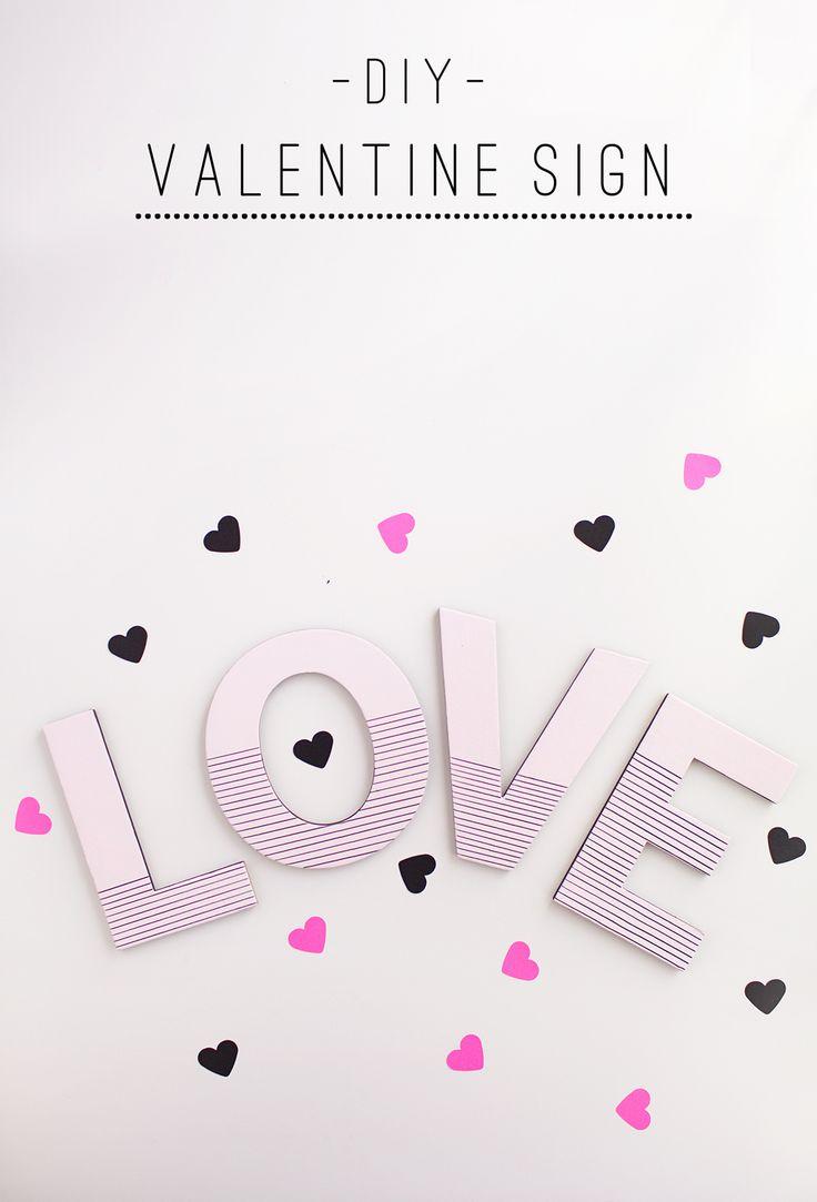 Best 25+ DIY Valentine\u0027s signs ideas on Pinterest | Diy valentine ...
