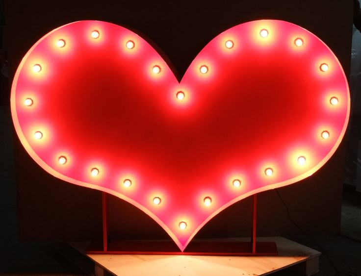 Light Up love heart / Letters / numbers for Hire at https://www.lightuplettersbali.com/