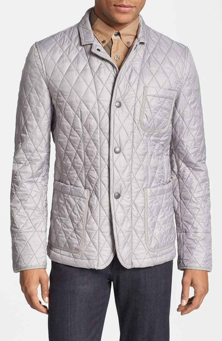 Love the Burberry Brit 'Howe' Quilted Jacket on Wantering | Winter Trends for Men | the quilted jacket | mens quilted jackets | menswear | mens style | mens fashion | wantering http://www.wantering.com/mens-clothing-item/burberry-brit-howe-quilted-jacket/afHjw/