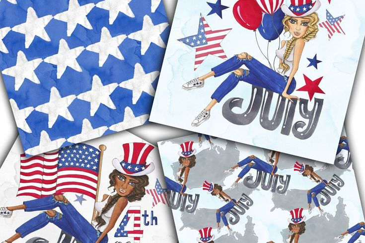 Hand-painted Independence Day July , #Ad, #alcoholic#drawn#Copic#markers #Ad