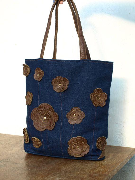 25  Best Ideas about Denim Tote Bags on Pinterest | Denim bag ...