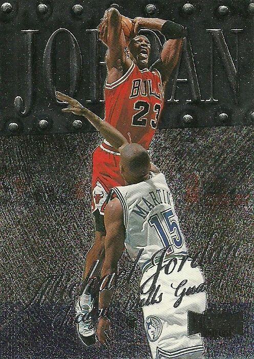 1998-99 FLEER METAL #1 MICHAEL JORDAN BULLS