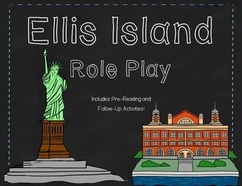 A fun, creative way to bring a unit on immigration and Ellis Island to life! Students are either immigration officials or immigrants coming to Ellis Island! Students are given new names and nationalities and go through medical examinations and questions.