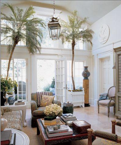 363 best british colonial decor images on pinterest - Salon colonial design ...