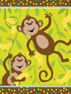 Monkey Tafelkleed