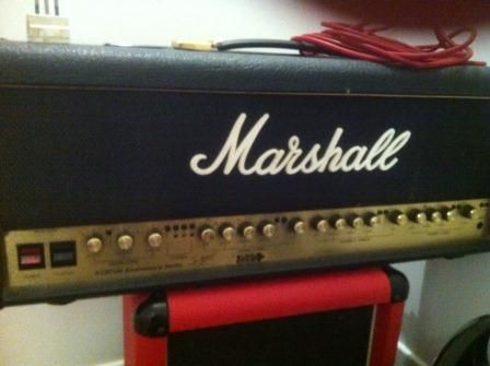 Vendo testata Marshall 6100 LM anniversary series + cassa Marshall   Amplificatori chitarra   Musicusata.it