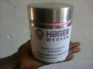 Searches related to hager werken embalming compound pink powder +27638250062