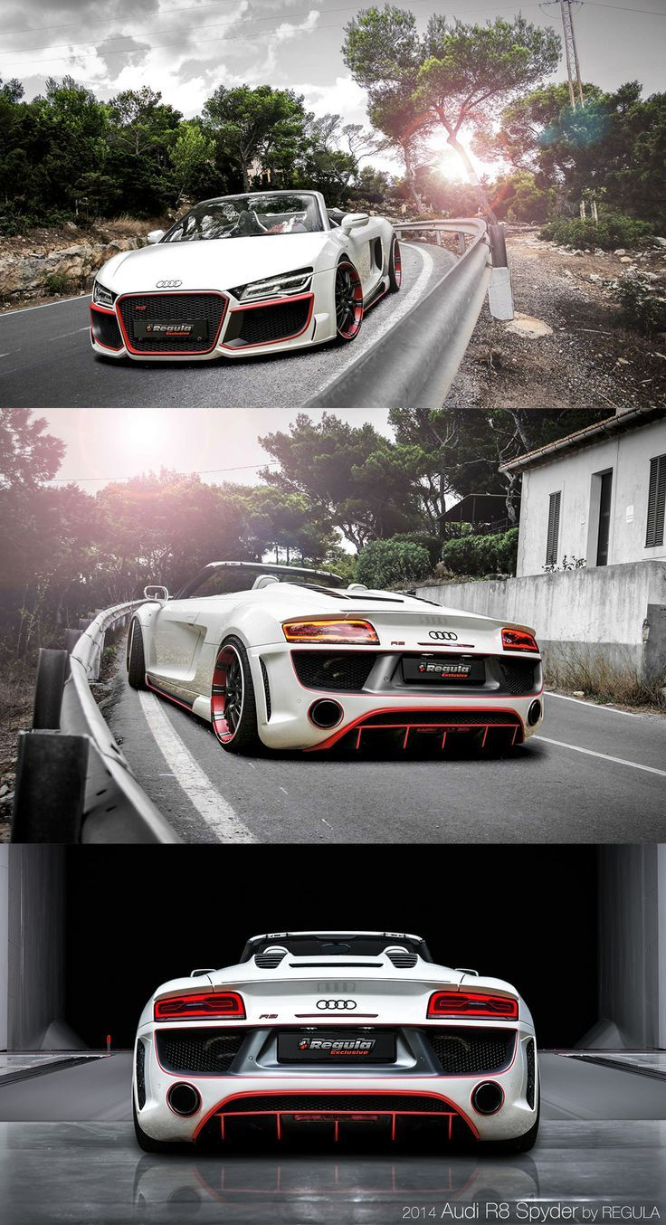 2014 Audi R8 V10 by REGULA tuning  #RePin by AT Social Media Marketing - Pinterest Marketing Specialists ATSocialMedia.co.uk