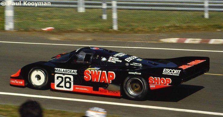 RSC Photo Gallery - Le Mans 24 Hours 1984 - Porsche 956 no.26 - Racing Sports Cars