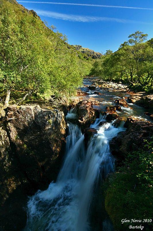 Glen Nevis - Achriabhach, Highland Scotland by Bartlomiej Przezdziecki