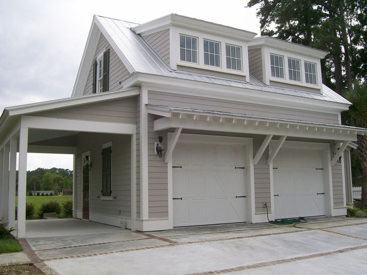 Allison ramsey architects great garage w guest quarters Home plans with detached guest house