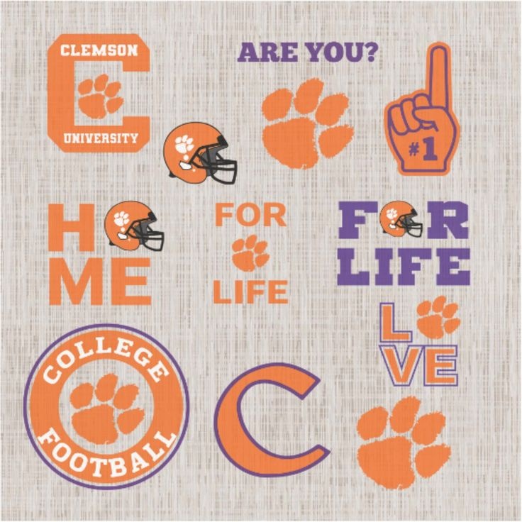 Clemson Tiger Svg,football svg,football gift,Clemson