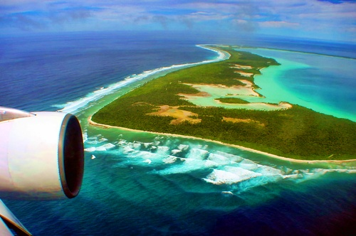 Diego Garcia, British Indian Ocean Territory - I was stationed here. Isolated and awesome.