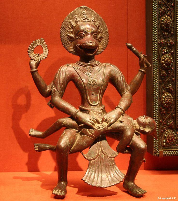 The Hindu deity Narasimha