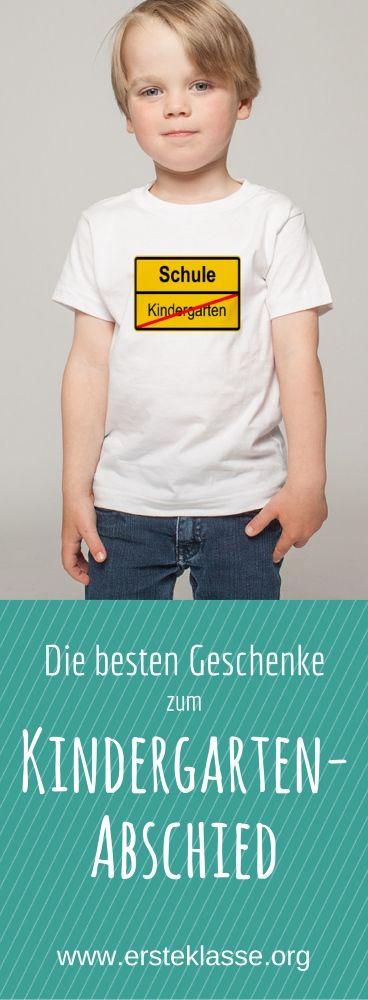 Hier findest du neben T-Shirts noch viele andere Ideen für Abschieds-Geschenke für Kinder und für Erzieher zum Bestellen oder zum Basteln. Schau mal rein!