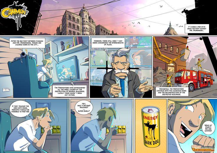 Season2 - Issue12 #canman #webcomic by #DARKDOG