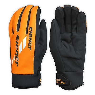 #Ziener cross-country skiing gloves gore windstopper #nordic race #orange 738,  View more on the LINK: http://www.zeppy.io/product/gb/2/321985919637/