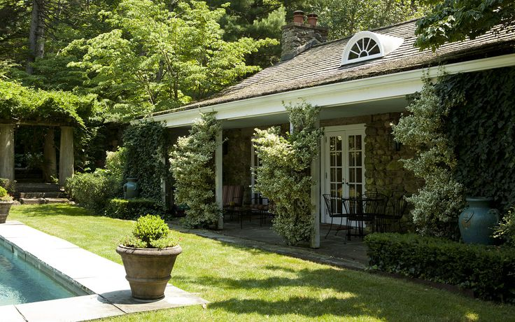 The roughly 800-square-foot garden cottage now serves as a guest house. Ms. Wilder was influential in introducing English perennial gardens to the U.S., and diagrams of her original gardens can be viewed in her book 'Color in my Garden,' said Ms. Singer.