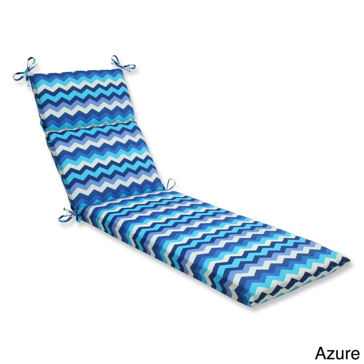 1000 ideas about chaise lounge outdoor on pinterest for Blue chaise lounge cushions
