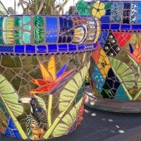 Mosaic Garden Art From Passifloramosaics.com