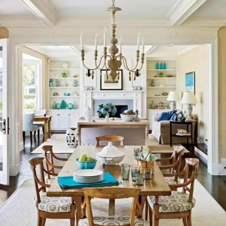 Nautical Decor Dining Room: 17 Best Ideas About Coastal Dining Rooms On Pinterest
