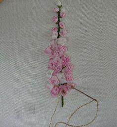 Silk Ribbon Embroidery: Tutorial - Foxgloves
