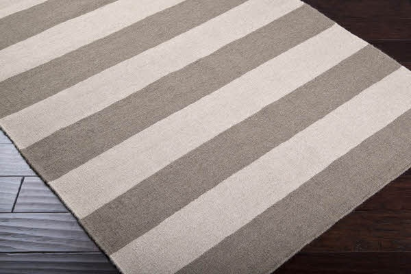 Taupe / Beige Area Rugs: Flats Weaving, Living Rooms, Rugs Features, Area Rugs, Vibrant Color, Stripes Rugs, Wool Rugs, Ivory Stripes, Modern Rugs