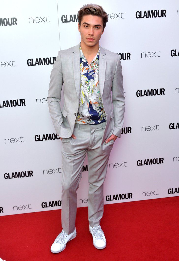 Pin for Later: Hollywood Se Mélange aux Stars Britanniques Lors des Glamour Women of the Year Awards George Shelley