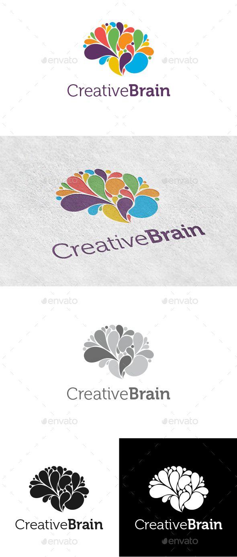 Creative Brain Logo - Logo Templates Download here : http://graphicriver.net/item/creative-brain-logo/8871372?s_rank=134&ref=Al-fatih