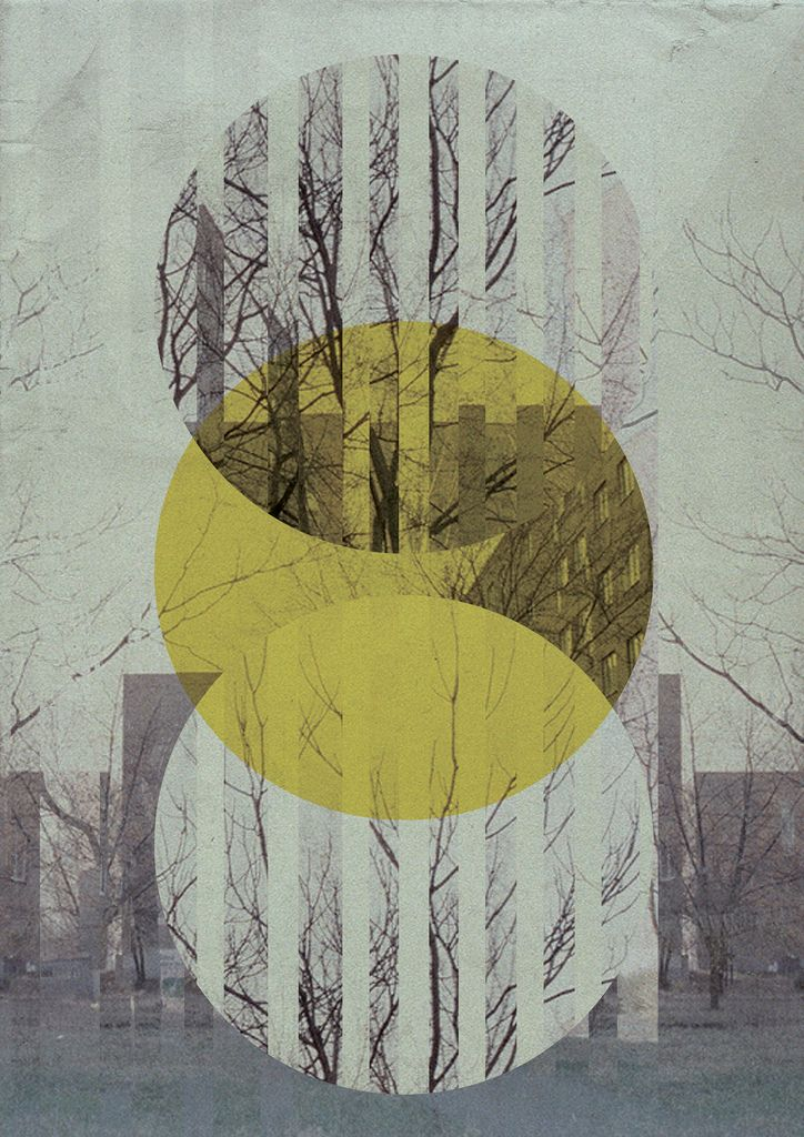 Point Ss #circle #graphic #design The nature element is really pretty, nice vertical visual movement