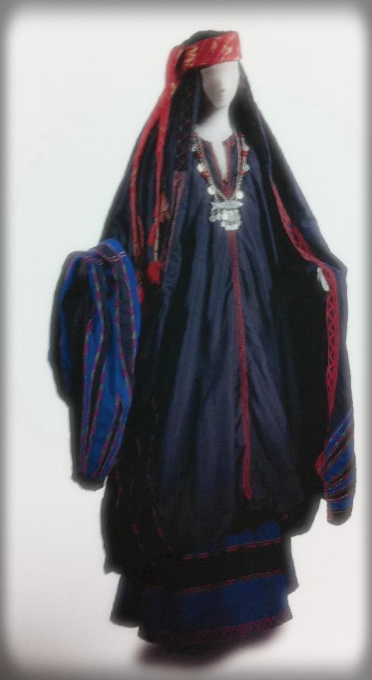 ヨルダンサルト地方カラカ民族衣装