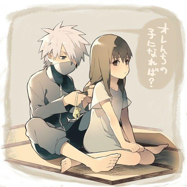 Kid Kakashi & Kid Yamato