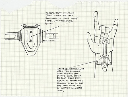 The Amazing Spider-Man Web-Shooter Blue Prints and Video